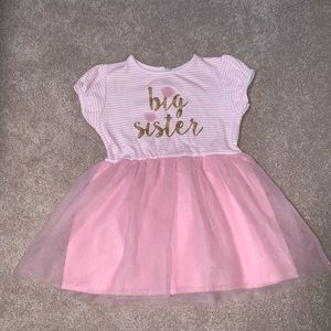 Other - Big Sister Pink Tulle 3T Dress